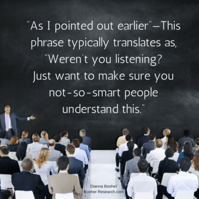 Communication Zingers to Avoid in Your Presentations and Email by Dianna Booher