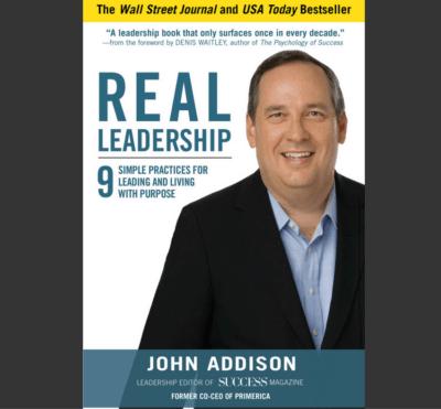 John Addison, REAL leadership, Dianna Booher