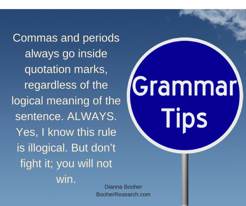 10 Grammar Mistakes That Drive Your Friends Nuts by Dianna Booher